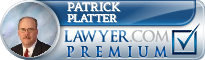 Patrick J. Platter  Lawyer Badge
