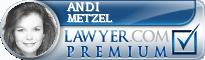 Andi M. Metzel  Lawyer Badge