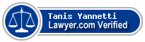 Tanis M Yannetti  Lawyer Badge