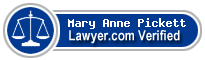 Mary Anne Pickett  Lawyer Badge