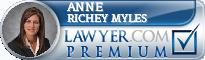 Anne Richey Myles  Lawyer Badge
