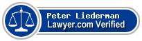 Peter H. Liederman  Lawyer Badge