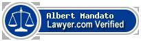 Albert L. Mandato  Lawyer Badge