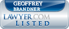 Geoffrey Brandner Lawyer Badge