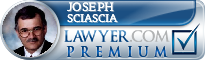 Joseph G. Sciascia  Lawyer Badge
