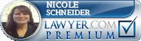 Nicole L. Schneider  Lawyer Badge