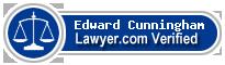 Edward J. Cunningham  Lawyer Badge