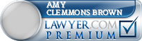 Amy Clemmons Brown  Lawyer Badge