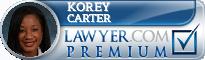 Korey M. Carter  Lawyer Badge