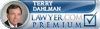 Terry Dahlman  Lawyer Badge