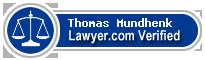 Thomas G. Mundhenk  Lawyer Badge