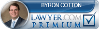 Byron E. Cotton  Lawyer Badge