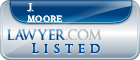 J. Moore Lawyer Badge