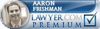 Aaron D. Frishman  Lawyer Badge