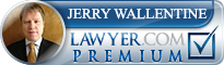 Jerry Lee Wallentine  Lawyer Badge