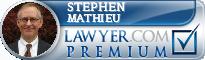 Stephen J. Mathieu  Lawyer Badge
