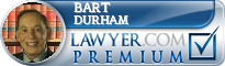 Bart C. Durham  Lawyer Badge