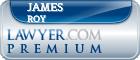 James Roy  Lawyer Badge