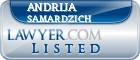 Andrija Samardzich Lawyer Badge