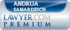 Andrija Samardzich  Lawyer Badge