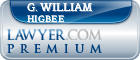 G. William Higbee  Lawyer Badge