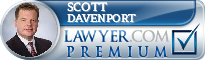 Scott J. Davenport  Lawyer Badge