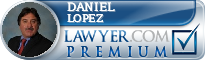 Daniel T. Lopez  Lawyer Badge