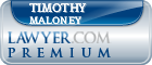 Timothy F. Maloney  Lawyer Badge