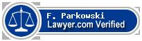 F. Michael Parkowski  Lawyer Badge