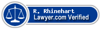 R. Scott Rhinehart  Lawyer Badge