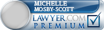 Michelle Mosby-Scott  Lawyer Badge