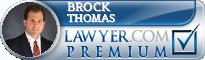 Brock Thomas  Lawyer Badge