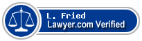 L. Richard Fried  Lawyer Badge