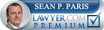 Sean P Paris  Lawyer Badge