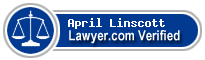 April M. Linscott  Lawyer Badge