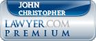 John A. Christopher  Lawyer Badge