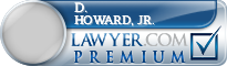 D. Douglas Howard, Jr.  Lawyer Badge