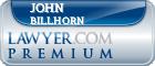 John W. Billhorn  Lawyer Badge