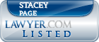 Stacey Page Lawyer Badge