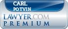 Carl W. Potvin  Lawyer Badge