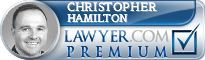 Christopher P. Hamilton  Lawyer Badge