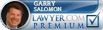 Garry R. Salomon  Lawyer Badge