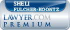 Sheli Fulcher-Koontz  Lawyer Badge
