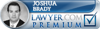 Joshua T. Brady  Lawyer Badge