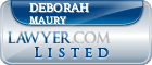 Deborah Maury Lawyer Badge