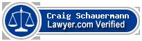 Craig F. Schauermann  Lawyer Badge