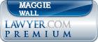 Maggie K. Wall  Lawyer Badge