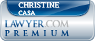 Christine Woodman Casa  Lawyer Badge