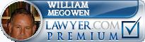 William Jacob Megowen  Lawyer Badge