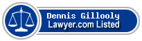 Dennis Gillooly Lawyer Badge